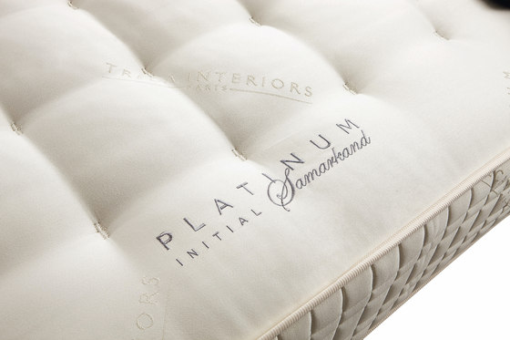 Sleeping Systems Collection Platinum | Mattress Initial Samarkand by Treca Interiors Paris | Mattresses
