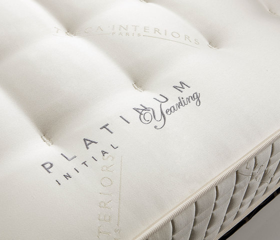 Sleeping Systems Collection Platinum | Mattress Initial Yearling by Treca Interiors Paris | Mattresses