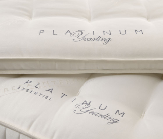 Sleeping Systems Collection Platinum | Mattress Essentiel Yearling by Treca Interiors Paris | Mattresses