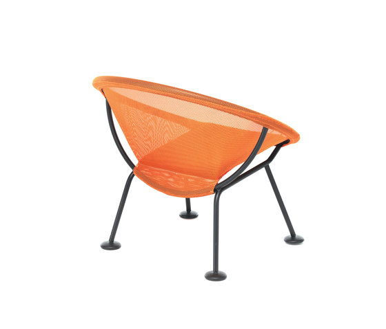 Take Off | poltroncina arancione di Skitsch by Hub Design | Poltrone da giardino