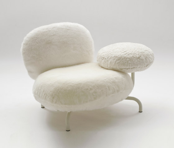 Cipria Poltrona white by edra | Armchairs