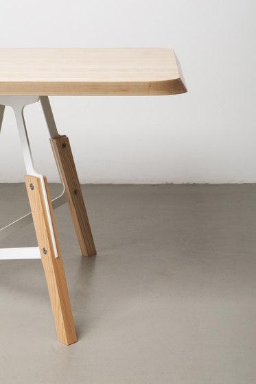 Stammtisch Rectangular de Quodes | Tables de restaurant