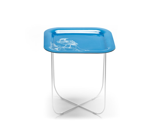 Paradise blue de Skitsch by Hub Design | Tables d'appoint