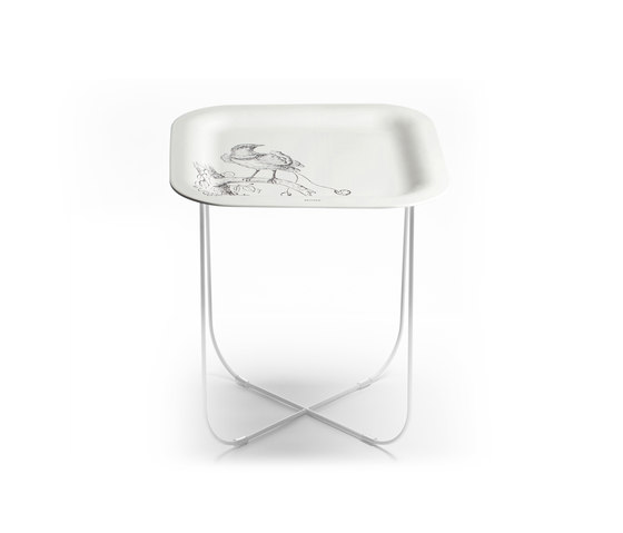 Paradise white by Skitsch by Hub Design | Side tables