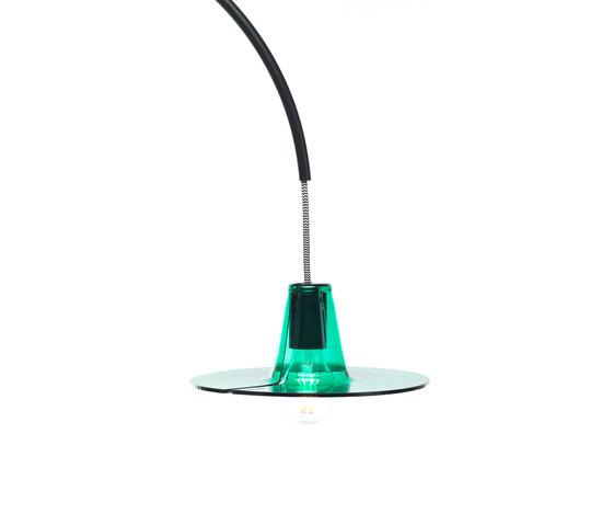 Jupe | plain diffuser green von Skitsch by Hub Design | Allgemeinbeleuchtung