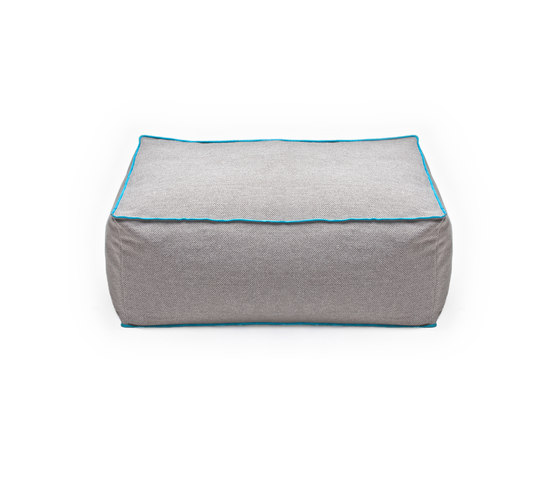 Frollino grey by Skitsch by Hub Design | Poufs