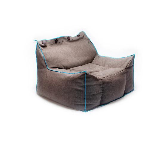 Frolla beige de Skitsch by Hub Design | Fauteuils