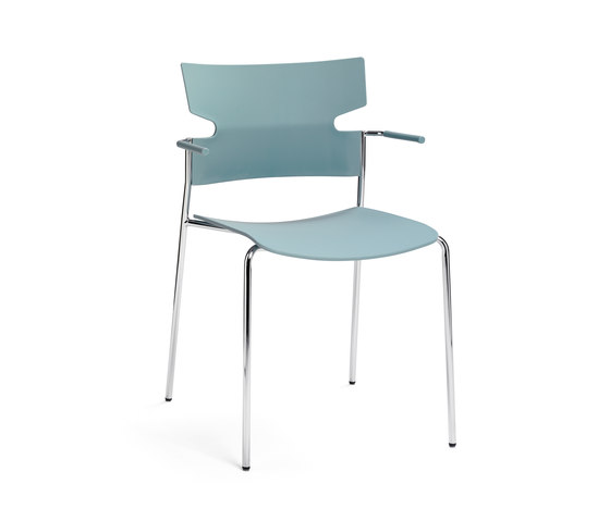 Stack chair by Materia | Visitors chairs / Side chairs