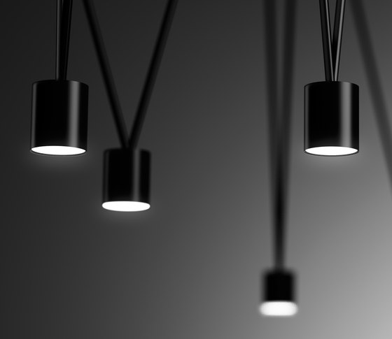 Match Pendant lamp by Vibia | Ceiling lights in aluminium
