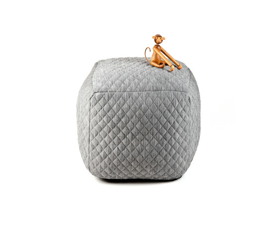 Quilted Bubble Stool di OBJEKTEN | Pouf