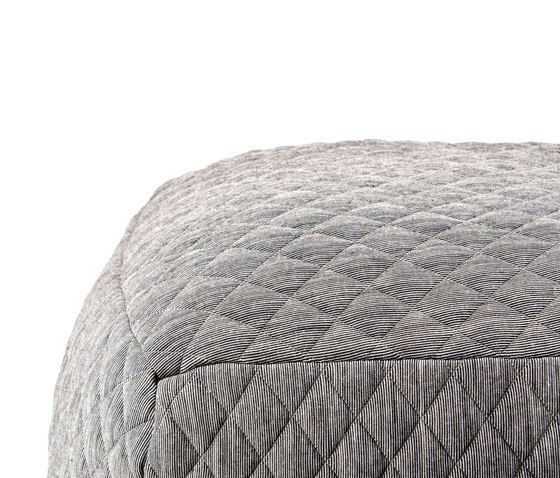 Quilted Bubble Stool by OBJEKTEN | Poufs