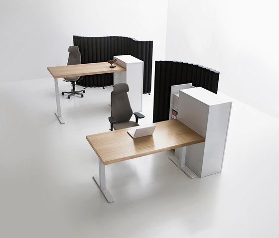 Serie [f] city by Kinnarps | Individual desks