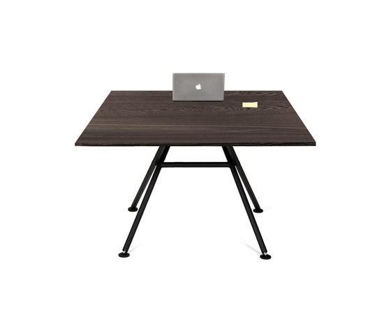 High Table Square by OBJEKTEN | Desks