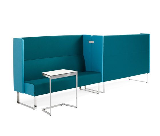 Monolite Compartment by Materia | Modular seating elements