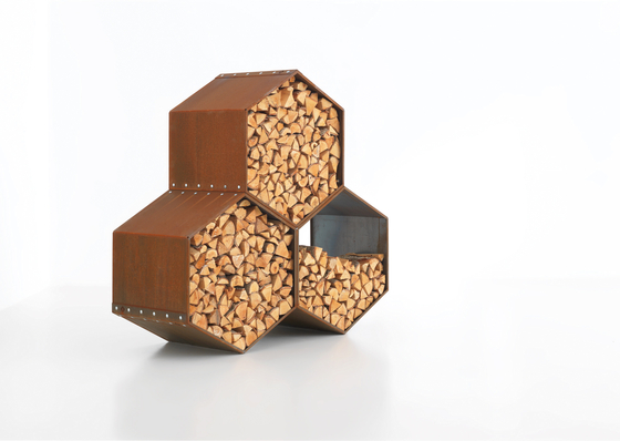 WoodBee by Harrie Leenders | Log holders