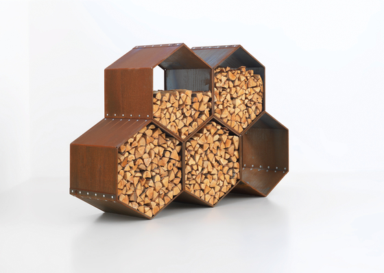 WoodBee de Harrie Leenders | Log holders