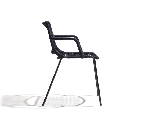 Egao Armchair PBR by Accademia | Restaurant chairs