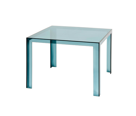 Invisible table de Kartell | Tables de restaurant