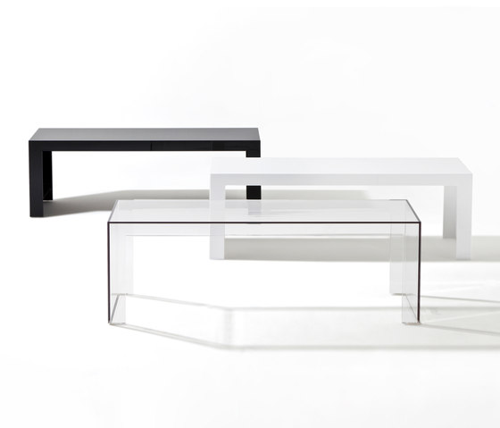 Invisible side de Kartell | Tables basses