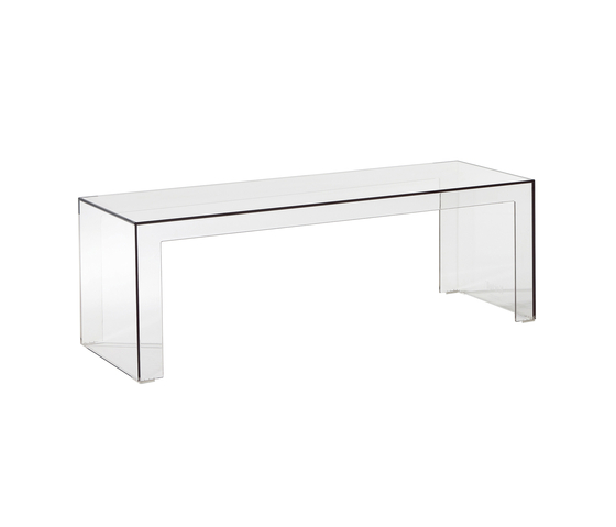 Invisible side by Kartell | Lounge tables