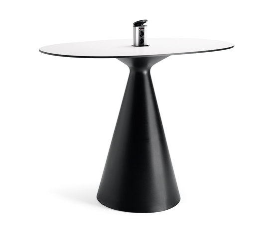 Cone table by Materia | High desks