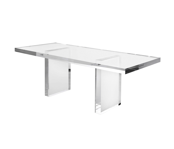 Invisible table by Kartell | Dining tables