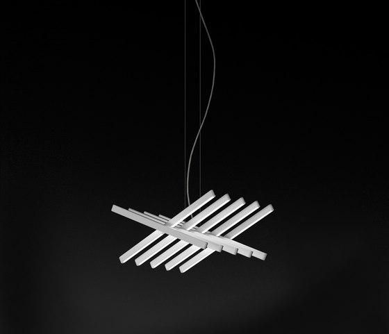Rhythm Pendant lamp di Vibia | Illuminazione generale