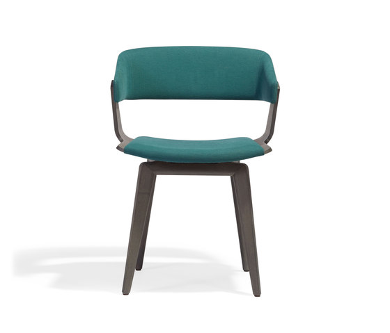 Katana Armchair P by Accademia | Visitors chairs / Side chairs