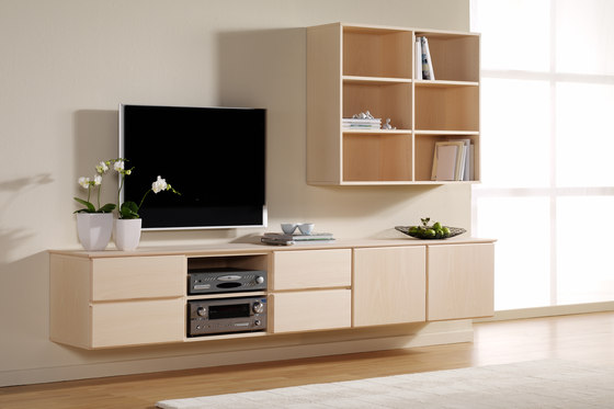 KLIM TV cabinet 2041 di KLIM | Credenze multimediali