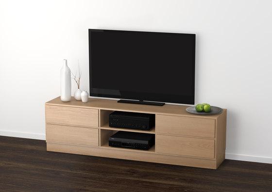 KLIM TV cabinet M440 by KLIM | Multimedia sideboards