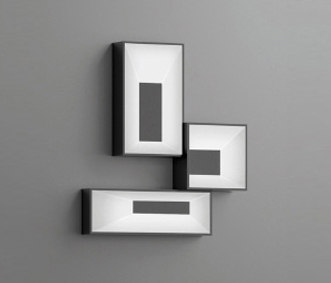 Link wall light triple by Vibia | General lighting