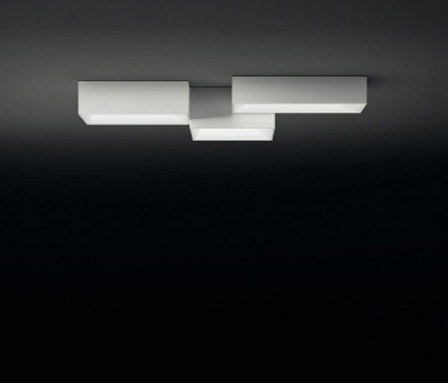 Link ceiling lamp triple by Vibia | General lighting