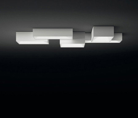Link ceiling lamp quintuple by Vibia | General lighting