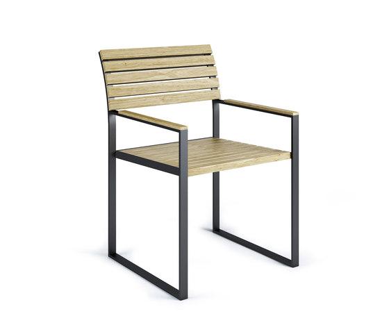 Garden Bistro Arm Chair by Röshults | Garden chairs