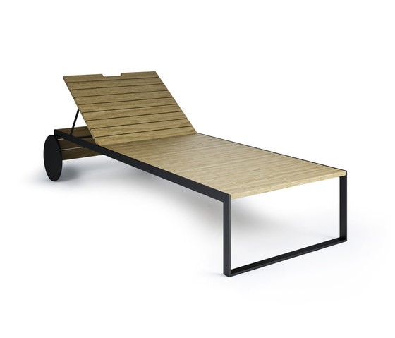 Garden Lounger by Röshults | Sun loungers