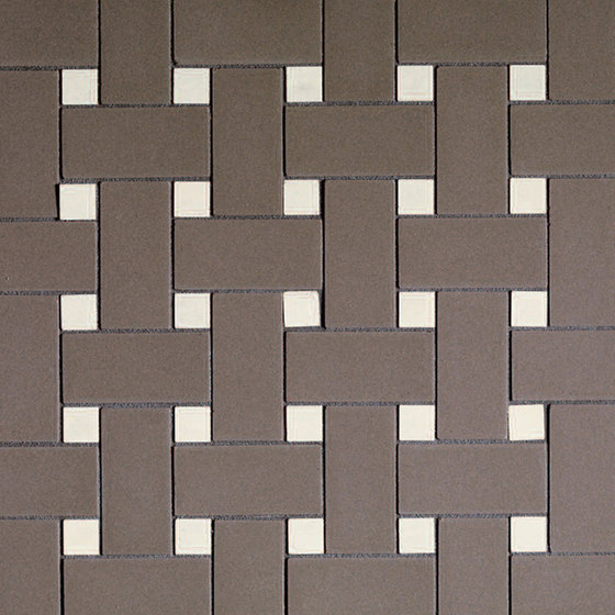 Mosaic 2x5 flooring and wall covering by Devon&Devon | Ceramic mosaics