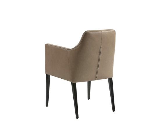 Allegra Armlehnstuhl von Christine Kröncke | Restaurantstühle
