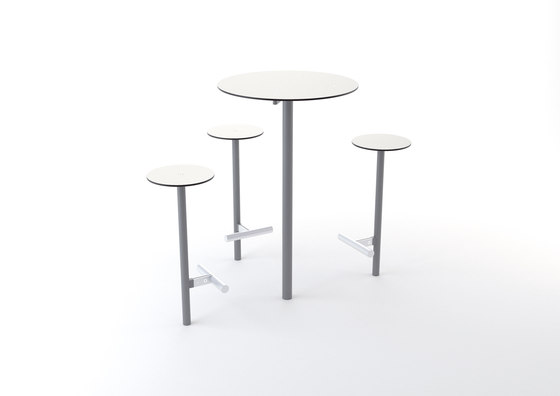 bistrot | Raised stool by mmcité | Exterior stools