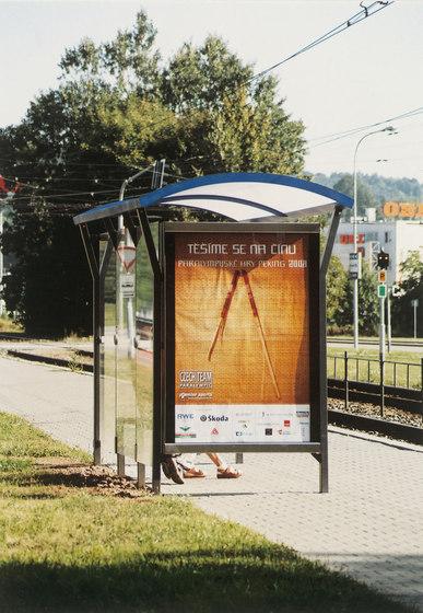 nimbus Bus stop shelter di mmcité | Fermate degli autobus