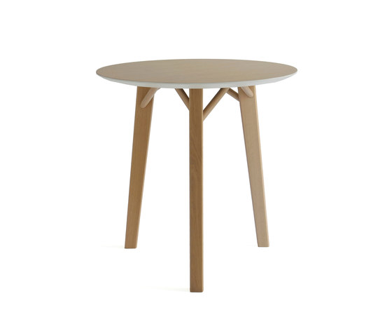 Tria Table round by Colé | Cafeteria tables