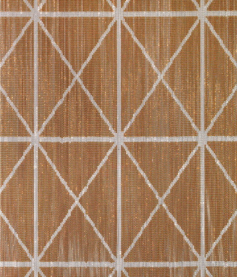 Kriska® Luxury Criss Cross by KriskaDECOR® | Metal weaves / meshs