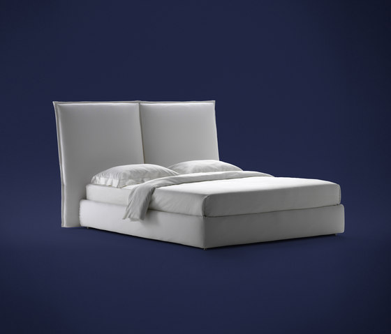 Angle Smooth headboard by Flou | Double beds