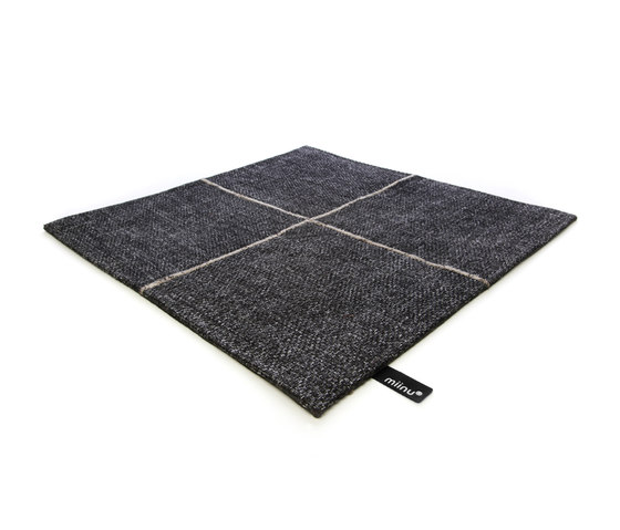 Crossline anthracite by Miinu | Rugs / Designer rugs