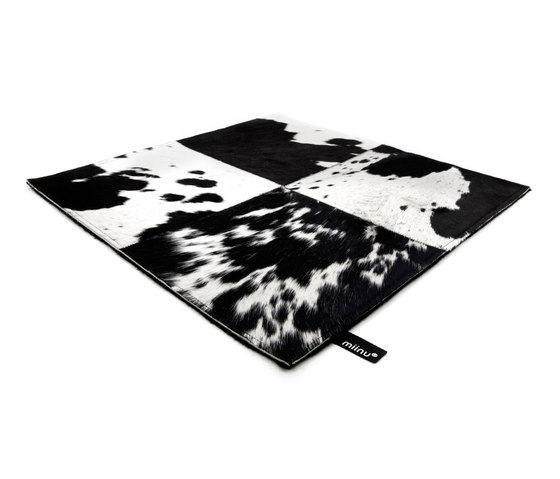 Cuero black & white by Miinu | Rugs / Designer rugs