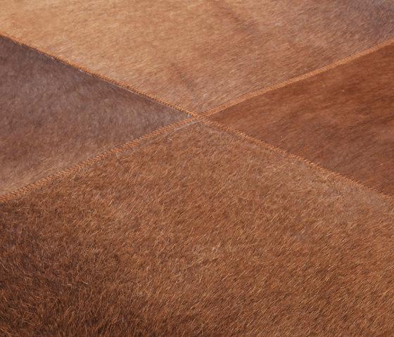 Cuero brown von Miinu | Formatteppiche / Designerteppiche
