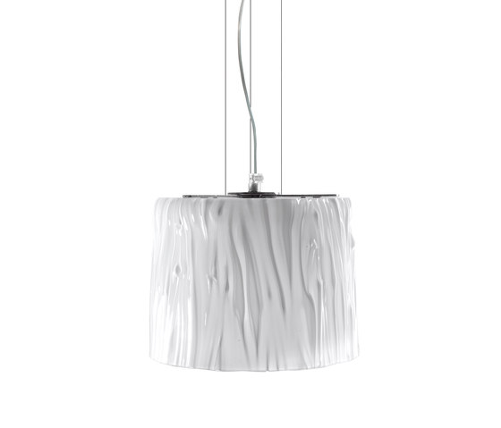 White Belt suspension lamp by Poesia | General lighting