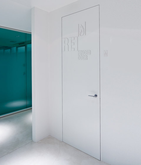 Alba | Fire Resistant Hinged Door by Linvisibile | Internal doors