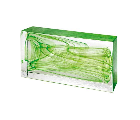 Mattoni in vetro | Classic green by Poesia | Decorative glass