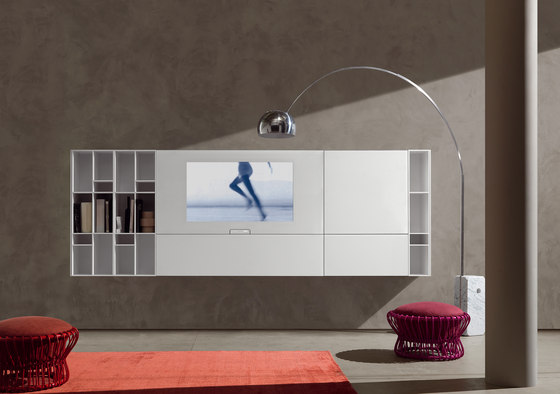 N. C. Smartwall von Acerbis | Multimedia Sideboards