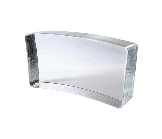 Mattoni in vetro | Form corona circolare by Poesia | Decorative glass